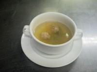 久保選手スープ